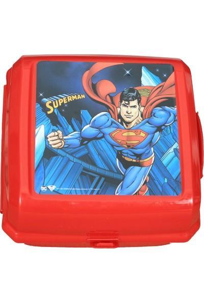 Süperman Plastik Beslenme Kabı Kutusu