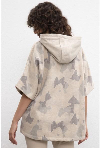 U.S. Polo Assn. Kadın Sweatshirt 50206523-Vr156