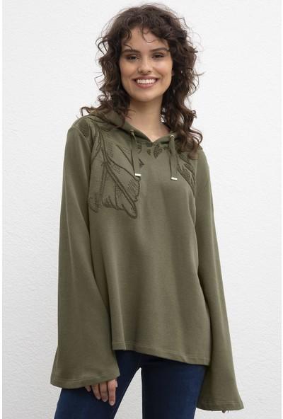 U.S. Polo Assn. Kadın Sweatshirt 50206524-Vr111