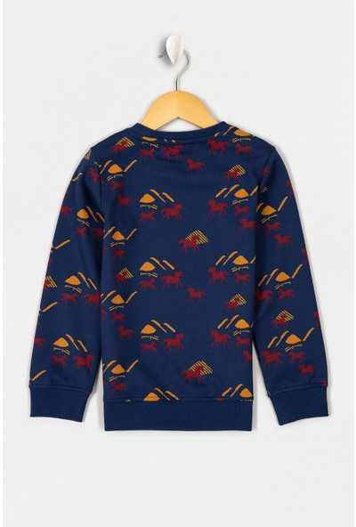 U.S. Polo Assn. Erkek Çocuk Sweatshirt 50207365-Vr059