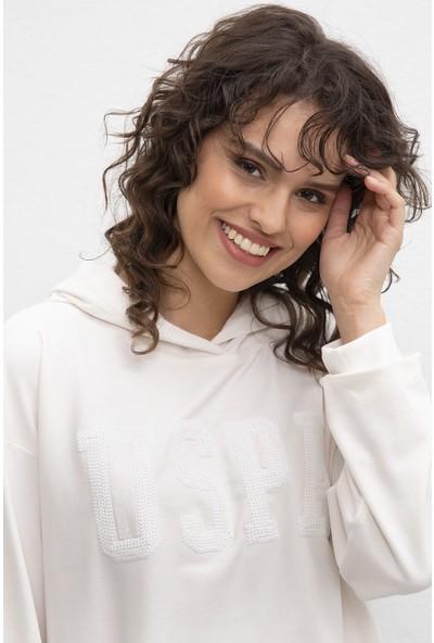 U.S. Polo Assn. Kadın Sweatshirt 50215057-Vr019