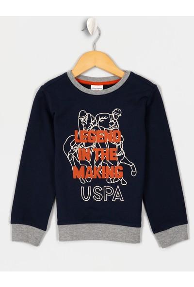 U.S. Polo Assn. Erkek Çocuk Sweatshirt 50215976-Vr033
