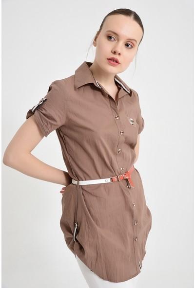 Maldia Bayan Vizon Gömlek Tunik