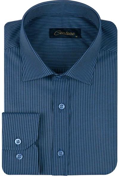 Centone Erkek Gömlek Slim Fit 19-0470