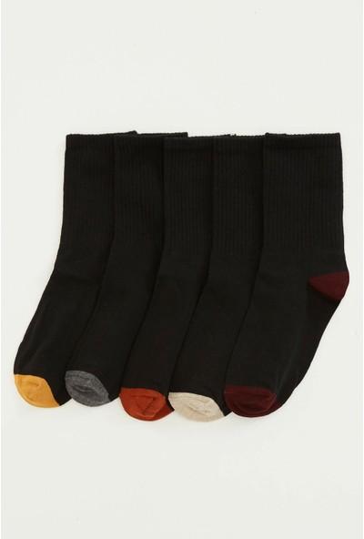 Defacto Kadın 5'li Uzun Çorap