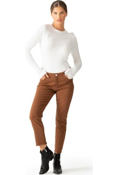 Via Dante Yüksek Bel Pantolon Kadın Pantolon 1033017Vd