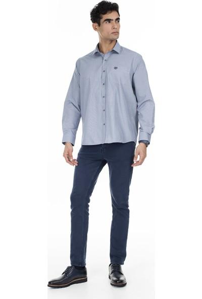 Sabri Özel Uzun Kollu Slim Fit Gömlek Erkek Uzun Kollu Gömlek 5432085