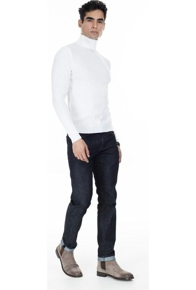 Buratti Balıkçı Yaka Slim Fit Kazak Erkek Kazak 549T014