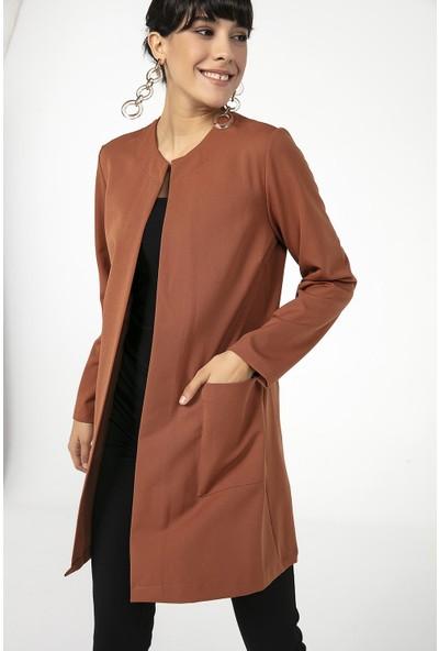 Liplipo Cepli Uzun Kadın Ceket
