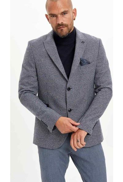 Defacto Erkek Modern Slim Fit Blazer Ceket