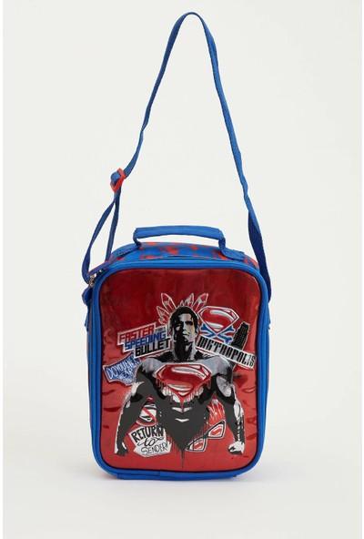 Defacto Erkek Çocuk Batman Lisanslı Çanta