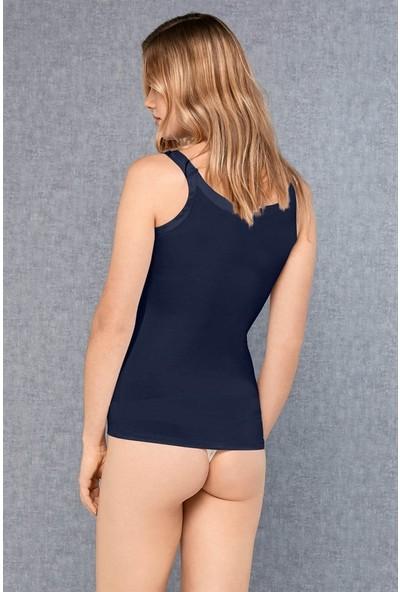 Doreanse Lacivert Kadın Atlet 9111
