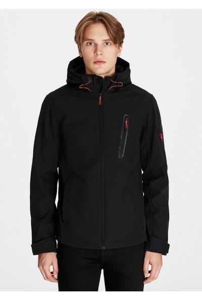 Kapüşonlu Siyah Mont 01986900