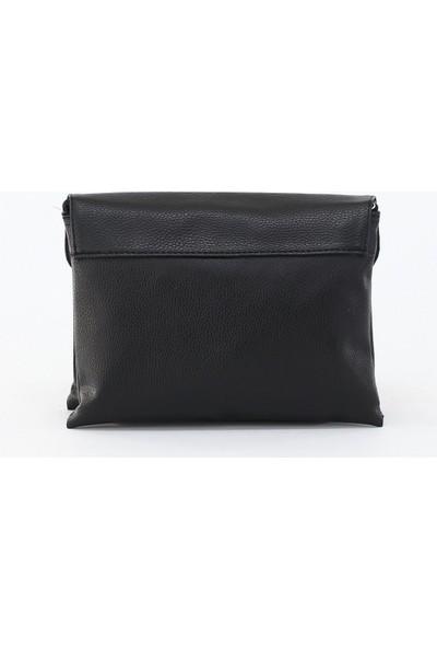 Depoms Kadın Çapraz Çanta Siyah 5041-S