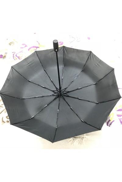 Albeni AK-3834 Tam Otomatik Şemsiye 10 Telli Rüzgarda Kırılmayan Çanta Boy Şemsiye