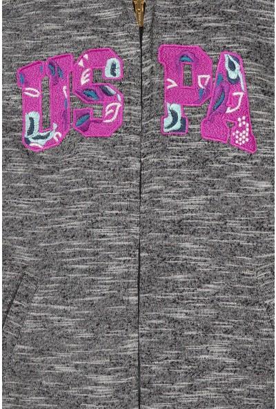 U.S. Polo Assn. Kız Çocuk Sweatshirt 50210557-Vr086