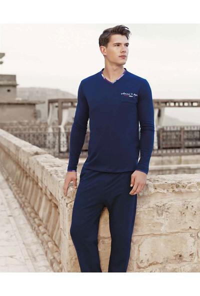 Güryıldız Erkek Uzun Kollu Pijama Takım 5256