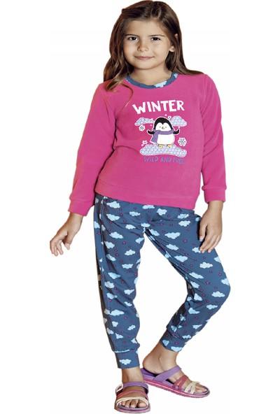 Güryıldız Kız Çocuk Yeni Sezon Uzun Kol Pijama Takımı 6203