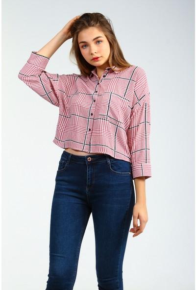 Collezione Kadın Uzun Kol Gömlek Nemel