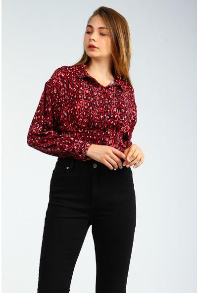 Collezione Kadın Uzun Kol Gömlek Vıwok