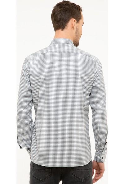 Pierre Cardin Erkek Dokuma Gömlek 50209271-Vr024