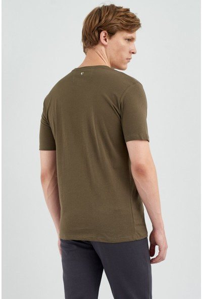 Giovane Gentile Erkek T-Shirt Yeşil