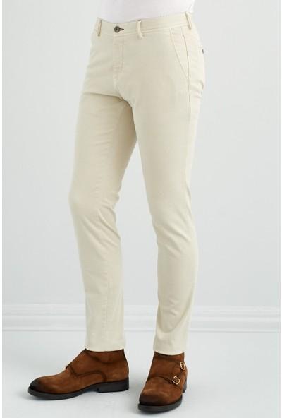 Giovane Gentile Erkek Pantolon Casual Sarı