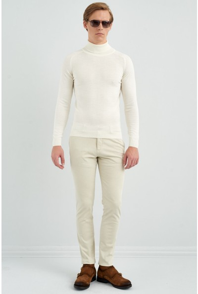 Giovane Gentile Erkek Triko Beyaz