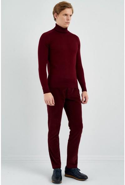 Giovane Gentile Erkek Pantolon Casual Kırmızı