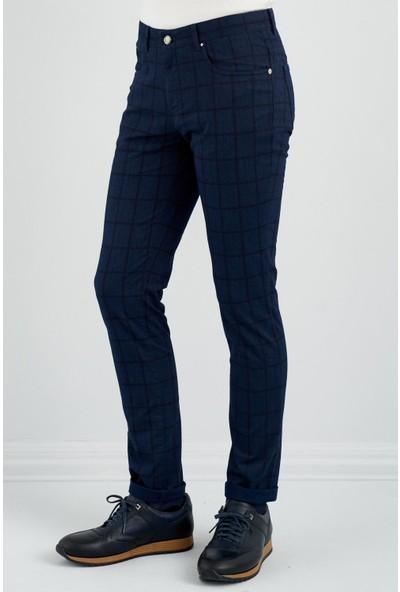 Giovane Gentile Erkek Pantolon Casual Açık Mavi