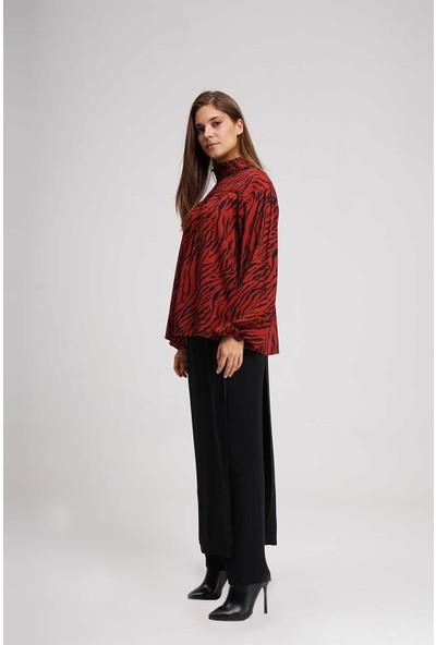 Mizalle Kadın Klasik Pantolon Etek