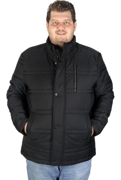Mode XL Büyük Beden Erkek Mont Kışlık Memory 193839 Siyah