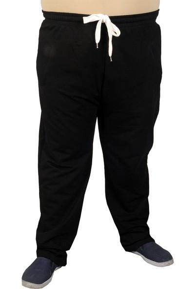 Mode XL Büyük Beden Erkek Eşofman Altı 2 Ip 11100 Siyah