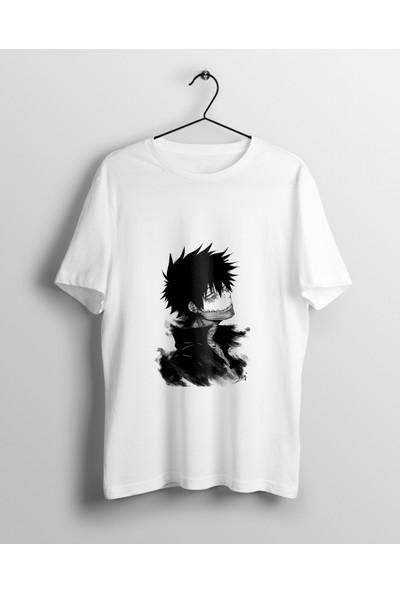 Anime Pazarı Dabi My Hero Academia Villain Unisex Anime T-shirt