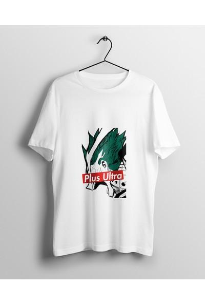 Anime Pazarı Deku My Hero Academia Plus Ultra Unisex Anime T-shirt