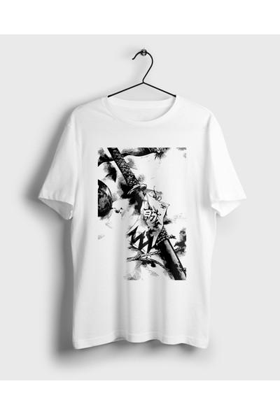 Anime Pazarı Japon Katana Manga Unisex Anime T-shirt