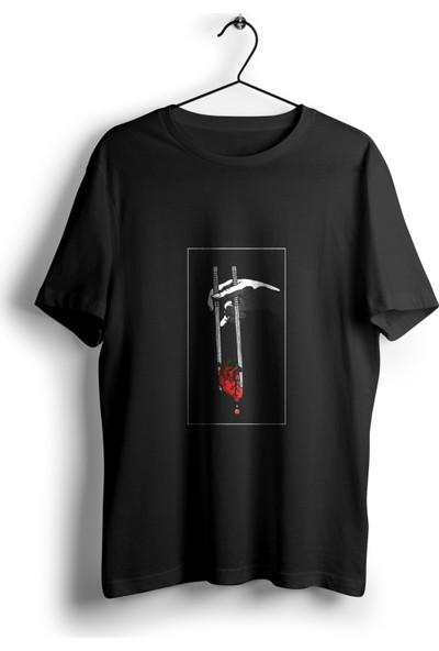 Anime Pazarı Chopstick İle Kalp Unisex Anime T-shirt