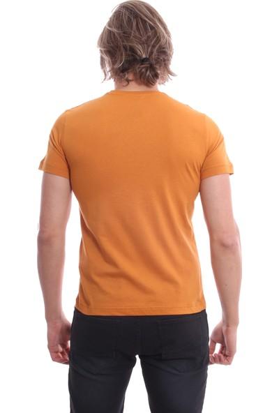 Diandor Bisiklet Yaka Slim Fit Erkek T-Shirt 171913
