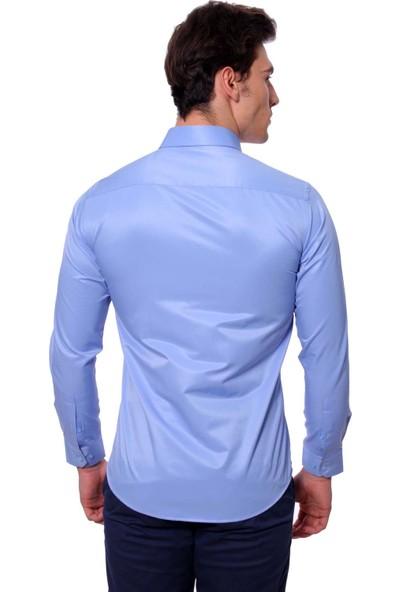 Diandor Slim Fit Erkek Gömlek 1912023