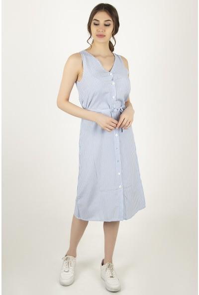 Morpile Kadın Kolsuz Elbise