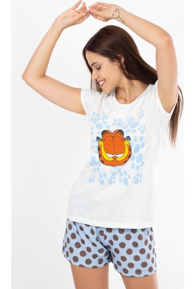 Morpile Kadın Şortlu Pijama Takım