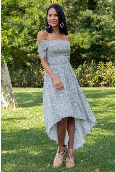 Morpile Kadın Bel Lastikli Elbise