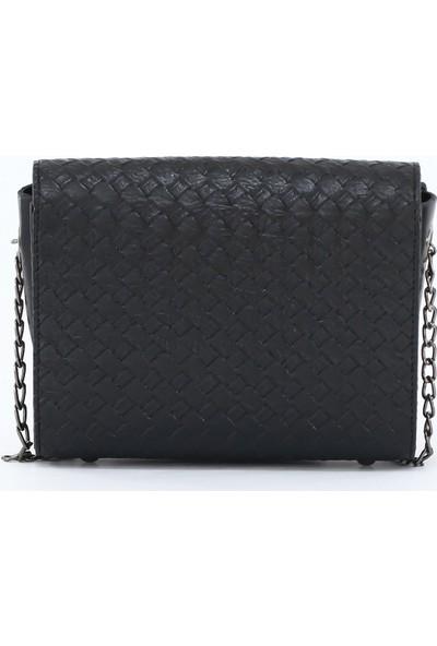 Depoms Kadın Çapraz Çanta Siyah 5003-S