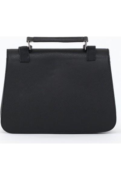 Depoms Kadın Çapraz Çanta Siyah 5009-S