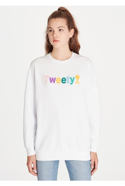 Mavi Kadın Tweety Sweatshirt