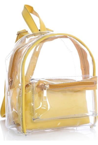 Stilgo Sarı Kadın Sırt Çantası CN55Z