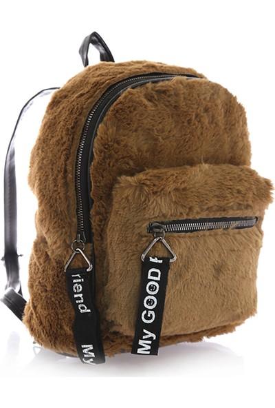 Stilgo Camel Kadın Sırt Çantası TL172Z
