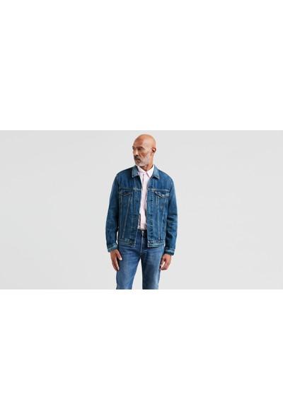 Levi's The Trucker Jacket Erkek Jean Ceket Mavi