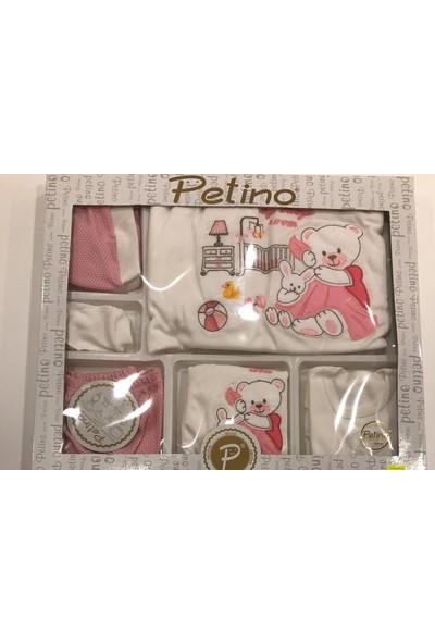 Petino Ayıcıklı Pembeli 10 P.zıbın Set