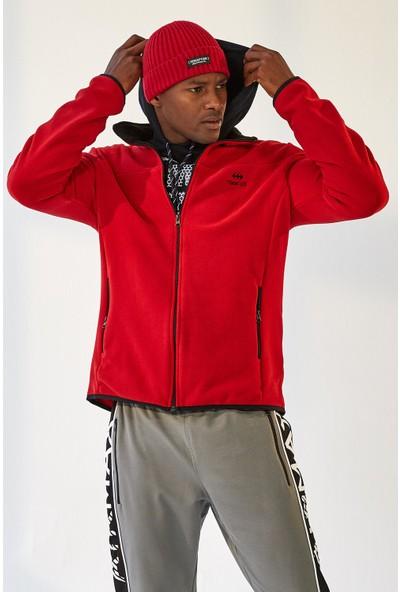 Tommy Life Yakalı Polar Kırmızı Erkek Sweatshirt